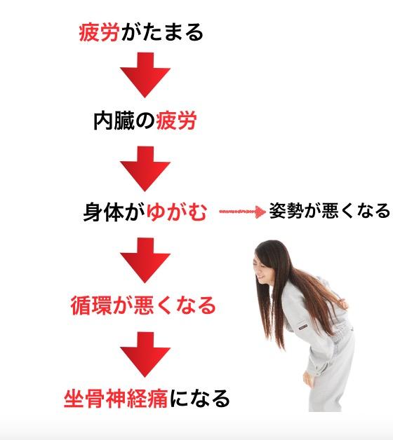 水戸で坐骨神経痛改善で人気の整体CURAが考える原因