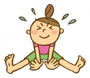 坐骨神経痛の改善の1つ、柔軟性