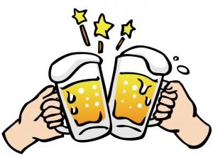 水戸の整体で肩こりの改善 お酒の飲みすぎで内臓に負担がかかり、肩こりを感じる