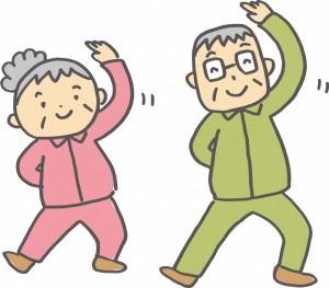肩こり予防の体操