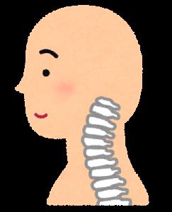 首こりや痛みの関係する斜頸、環椎、軸椎は車軸の役割