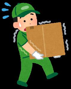 過外転症候群の原因として、重い荷物を持つ