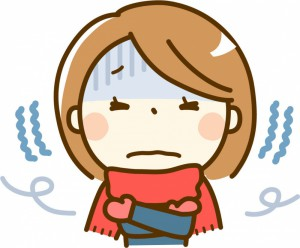 寒さで肩こりがひどくなる