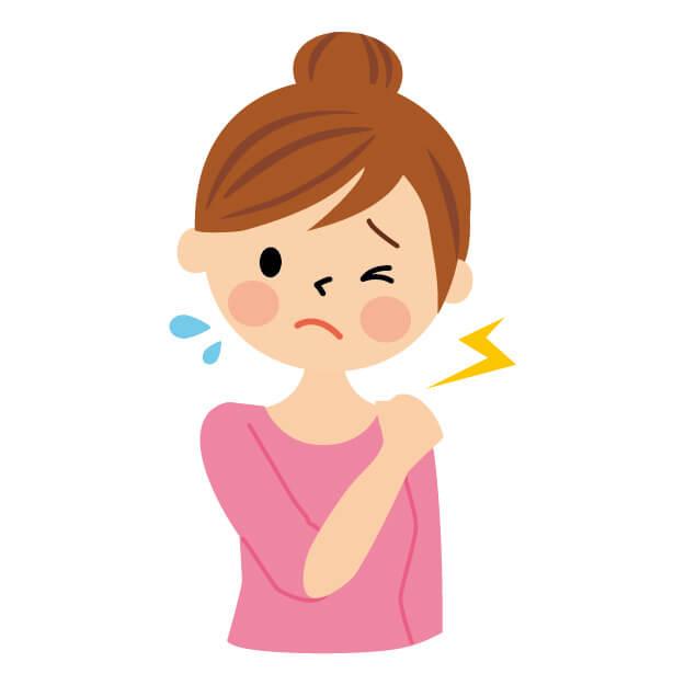 肩が痛い 安静時痛