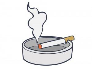 内臓疲労からの肩こり、タバコの煙も悪影響