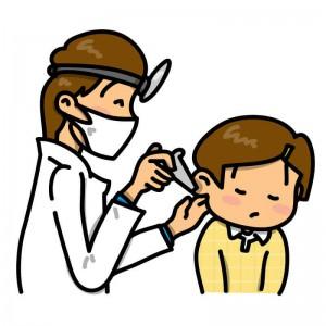 首こりや痛みに関係する斜頸、中耳炎などで起こる