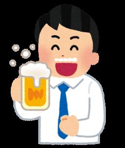 内臓疲労からの肩こり、飲みすぎに注意する