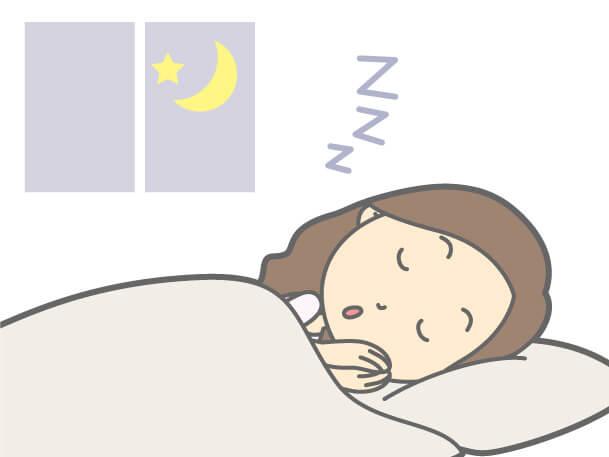 内臓疲労からの肩こり、睡眠をしっかりとる