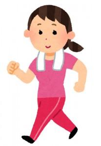 水戸の整体 整体などで言われる運動の改善  ウォーキングやジョギングで循環が良くなる