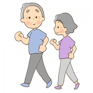 ぎっくり腰は循環を良くするために歩いたりする