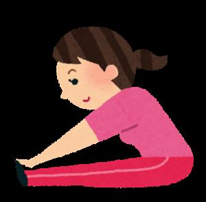 ぎっくり腰の予防、運動後のストレッチは大切