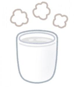 水戸の整体 水分不足の時に白湯を飲む