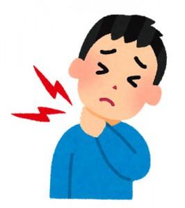 首こりの原因の一つ スマホの使いすぎで首に相当負担がかかる