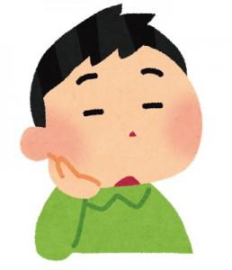 顎関節の問題 頬杖をつく