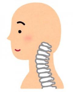 顎関節の問題 頚椎に負担がかかる