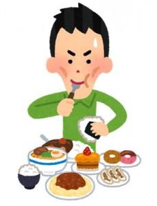 顎関節の問題 たくさん食べることによる日常生活の乱れ