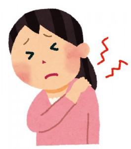 顎関節の問題 肩こりが起こる