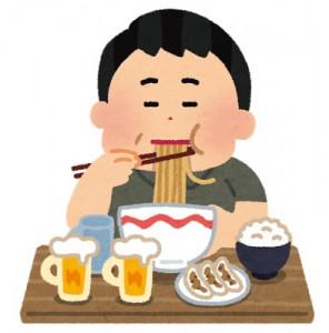水戸の整体 食べ過ぎで内臓に負担がかかる