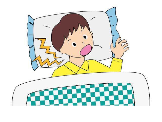 寝違えが起こってしまう原因とは