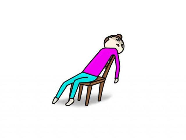 足のしびれの原因は疲労