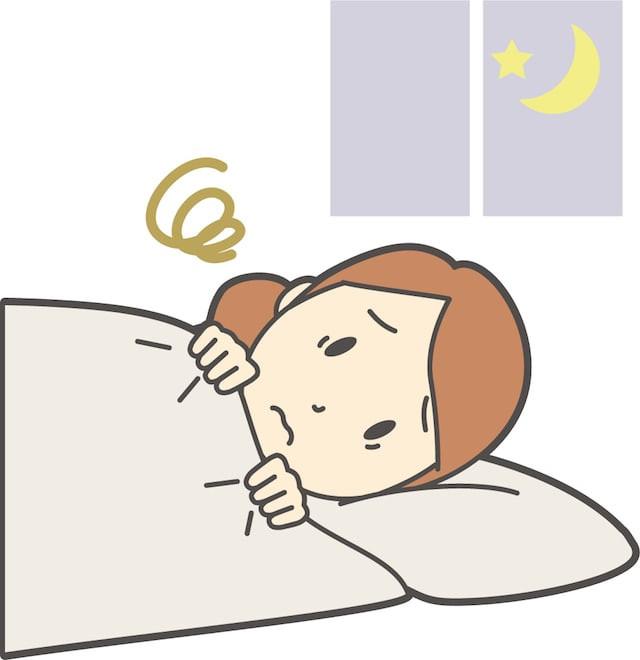 夜間痛で眠れない